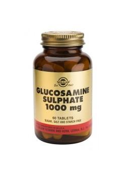 SULFATO GLUCOSAMINA  1000MG 60 CAPS. - SOLGAR - 033984012912