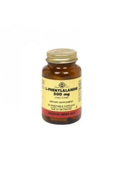 L-FENILALANINA 500MG 50 CAPSULAS - SOLGAR - 033984022003