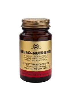 NEURO NUTRIENTES 30 CAPSULAS VEGETALES - SOLGAR - 033984018457