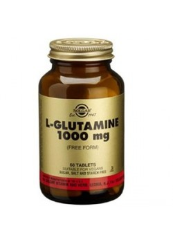 L-GLUTAMINA 1000MG 60 COMPRIMIDOS - SOLGAR - 033984012547
