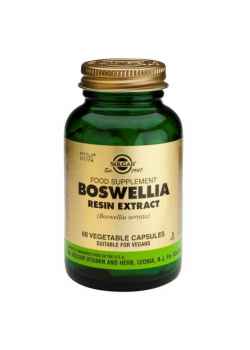 BOSWELLIA RESIN EXTRACT 60 CAPSULAS - SOLGAR - 033984041141