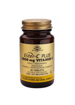 ® ESTER-C PLUS 1000MG 30 COMPRIMIDOS - SOLGAR - 033984010505