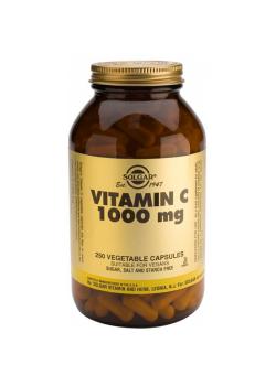 VITAMINA C 1000MG 100 CAPSULAS - SOLGAR - 033984032804