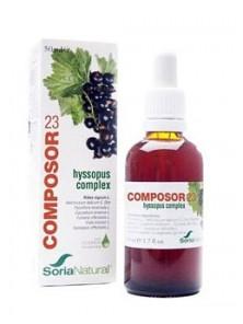 **COMPOSOR 23 HYSSOPUS COMPLEX - SORIA NATURAL - 8422947152239