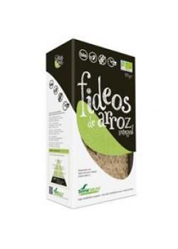 FIDEOS ARROZ INTEGRAL SIN GLUTEN 250GR BIO - SORIA NATURAL - 8422947400507