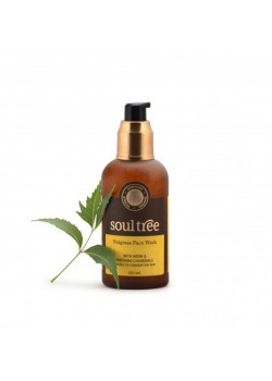 GEL LIMPIADOR FACIAL NUTGRASS PIELES MIXTAS GRASAS 120ML - SOUL TREE - 8906026911035