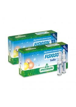 FISIOSOL 10 YODO 20 VIALES - SPECCHIASOL - 8002738812452