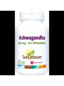 ASHWAGANDHA 30 CAPSULAS - SURAVITASAN - 628747123945