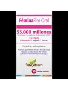 FEMINA FLOR ORAL 30 CAPSULAS - SURAVITASAN - 628747122863