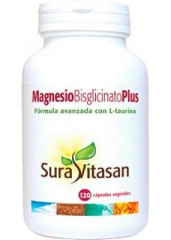 MAGNESIO BISGLICINATO PLUS 120 CAPSULAS - SURAVITASAN - 628747120326