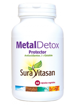 METAL DETOX PROTECTOR 60 CAPSULAS - SURAVITASAN - 628747120890