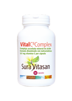VITAL C8 COMPLEX 45 CAPSULAS - SURAVITASAN - 628747118088