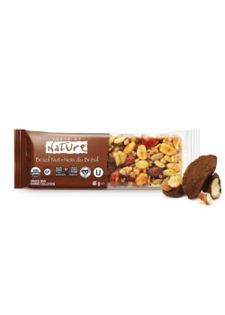 BARRITA DE NUECES DE BRASIL 40GR BIO - TASTE OF NATURE - 059527752015