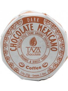 CHOCOLATE CON CAFÉ 77GR BIO - TAZA CHOCOLATE - 898456001555