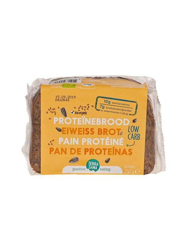 PAN DE PROTEINAS 250GR BIO - TERRASANA - 8713576001983