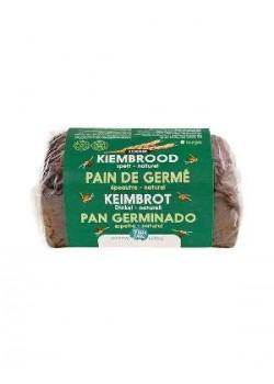 PAN GERMINADO DE ESPELTA 400GR BIO - TERRASANA - 8713576203516