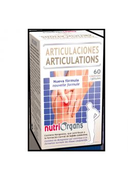ARTICULACIONES 60 CAPSULAS - NUTRIORGANS - 8436005300197