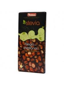 **CHOCOLATE NEGRO CON AVELLANAS C/STEVIA 125 GR - TORRAS - 8410342015006
