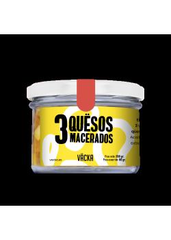 3 QUËSOS MACERADOS 200GR - VÄCKA