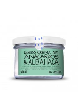 CREMA FERMENTADA DE ANACARDOS & ALBAHACA 212GR - VÄCKA - 8437021739053