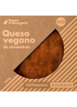 **QUESO VEGANO DE ALMENDRAS AHUMADO 200GR BIO - VEGAN FROMAGERIE - 8437018045013