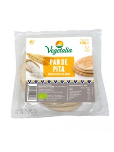 PAN DE PITA BLANCO 260GR BIO - VEGETALIA - 8422791006986