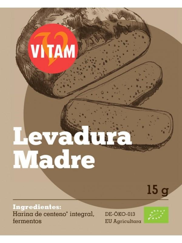 LEVADURA MASA MADRE 15GR BIO - VITAM-R - 4011437040763