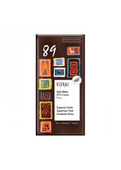 CHOCOLATE NEGRO 89% 80GR - VIVANI - 4044889003420