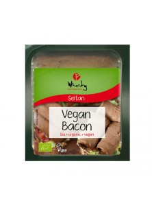 SEITAN LONCHAS BACON 60GR BIO - WHEATY THE VEGAN WAY - 4032277008645