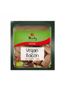 SEITAN LONCHAS BACON 60GR BIO - WHEATY THE VEGAN WAY - 4032277008645