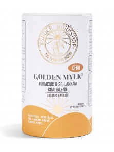 GOLDEN MYLK CHAI BLEND 100GR BIO - WUNDER WORKSHOP - 797776194650