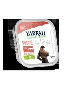 PATE PERROS TERNERA ESPIRULINA 150GR BIO - YARRAH - 8714265976650