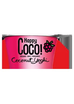 POSTRE COCO FRAMBUESA 125GR BIO - HAPPY COCO - 8719324144971