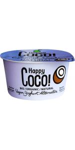 POSTRE COCO NATURAL 125GR BIO - HAPPY COCO - 8719324144025