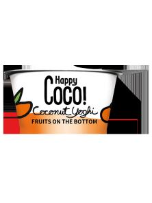 **POSTRE DE COCO CON MANGO Y FRUTAS DE LA PASSION 125ML BIO - HAPPY COCO - 8719324144933