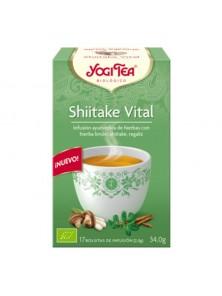 INFUSION SHIITAKE VITAL 17 BOLSITAS - YOGI TEA - 4012824404830