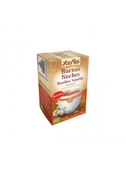 YOGI TEA BUENAS NOCHES ROOIBOS VAINILLA 17 BOLSITAS BIO - YOGI TEA - 4012824402256