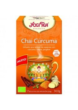YOGI TEA CHAI CURCUMA 17 FILTROS BIO - YOGI TEA - 4012824404151