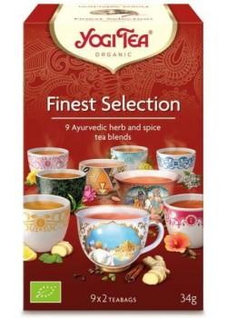 """YOGI TEA """"FINEST SELECTION"""" 18 BOLSITAS BIO - YOGI TEA - 4012824404380"""