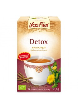YOGI TEA 'DETOX' 17 BOLSITAS BIO - YOGI TEA - 4012824401280