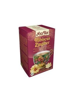 YOGI TEA 'JENGIBRE-HIBISCO' 17 BOLSITAS BIO - YOGI TEA - 4012824400580