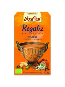 YOGI TEA 'REGALIZ' 17 BOLSITAS BIO - YOGI TEA - 4012824400191