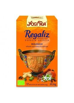 YOGI TEA 'REGALIZ' 17 BOLSITAS BIO - YOGI TEA - 4012824400191