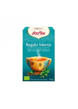 YOGI TEA REGALIZ MENTA 17 BOLSITAS BIO - YOGI TEA - 4012824400337