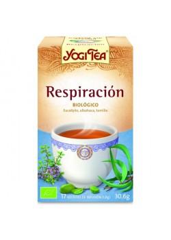 YOGI TEA 'RESPIRACION PROFUNDA' 17 BOLSITAS BIO- YOGI TEA - 4012824401020