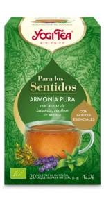 YOGI TEA SENTIDOS 'ARMONIA PURA' 20 BOLSITAS BIO - YOGI TEA - 4012824404649