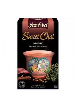 YOGI TEA 'SWEET CHAI' 17 BOLSITAS BIO - YOGI TEA - 4012824400696
