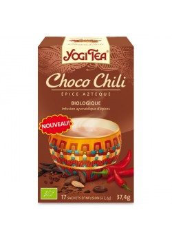YOGI TEA 'CHOCO CHILI' 17 BOLSITAS BIO - YOGI TEA - 4012824400382
