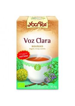 YOGI TEA 'VOZ CLARA' 17 BOLSITAS BIO - YOGI TEA - 4012824401419