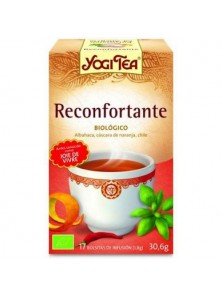 YOGI TEA 'RECONFORTANTE' 17 BOLSITAS BIO - YOGI TEA - 4012824401716